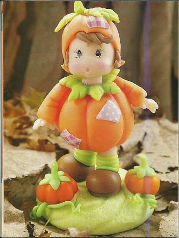 Thanksgiving and Fall Polymer Clay Craft Projects (14)