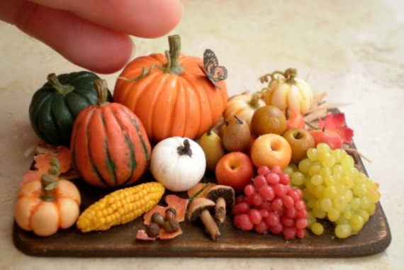 Thanksgiving and Fall Polymer Clay Craft Projects (15)