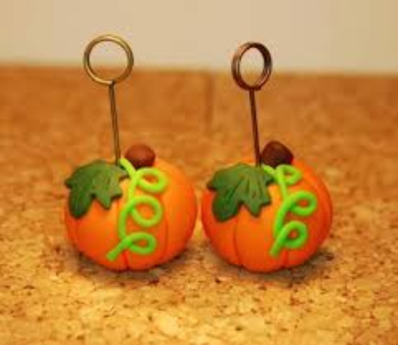 Thanksgiving and Fall Polymer Clay Craft Projects (22)