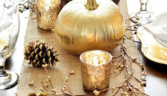 Warm and Inviting Thanksgiving Centerpiece Ideas  (10)