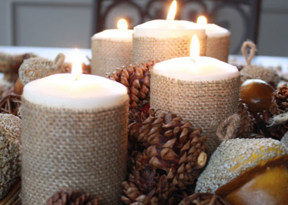 Warm and Inviting Thanksgiving Centerpiece Ideas  (12)