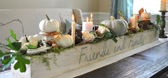 Warm and Inviting Thanksgiving Centerpiece Ideas  (14)