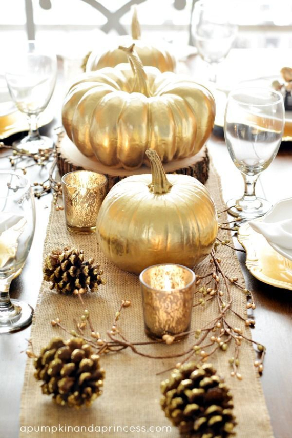 Warm and Inviting Thanksgiving Centerpiece Ideas  (28)