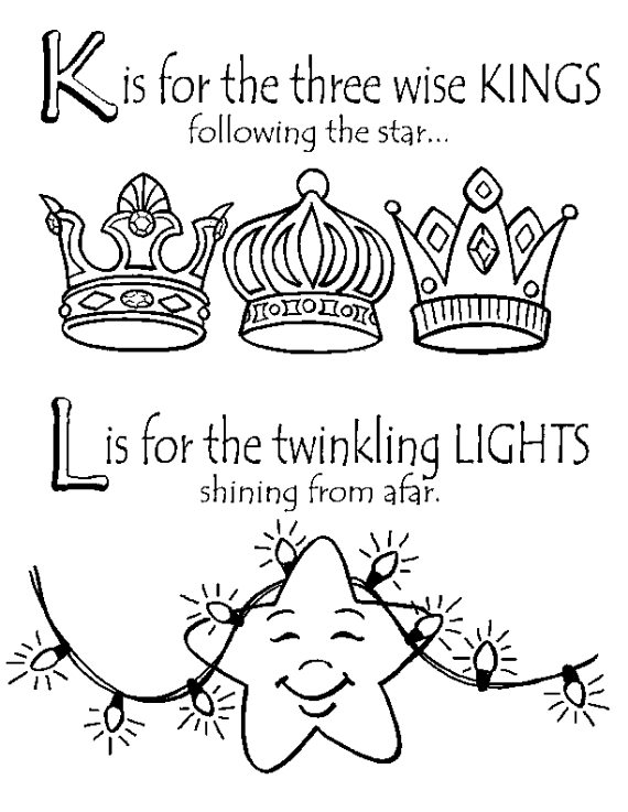 16 Free Christmas Colouring Pages For Children