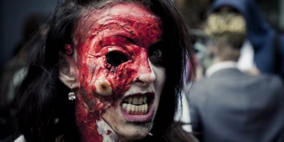 30 Best Scary Halloween Makeup Ideas–Creepy, Spooky and Horrifying ...