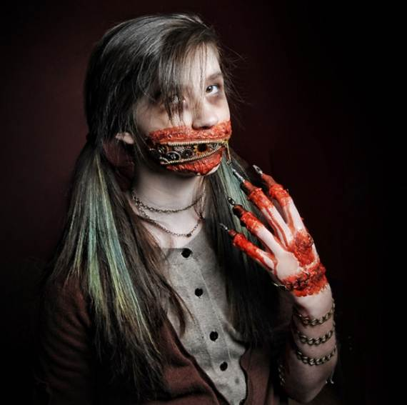 30 Best Scary Halloween Makeup IdeasCreepy Spooky and - Best Halloween Faces