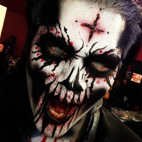 30 Best Scary Halloween Makeup IdeasCreepy Spooky and - Top Halloween Makeup Ideas