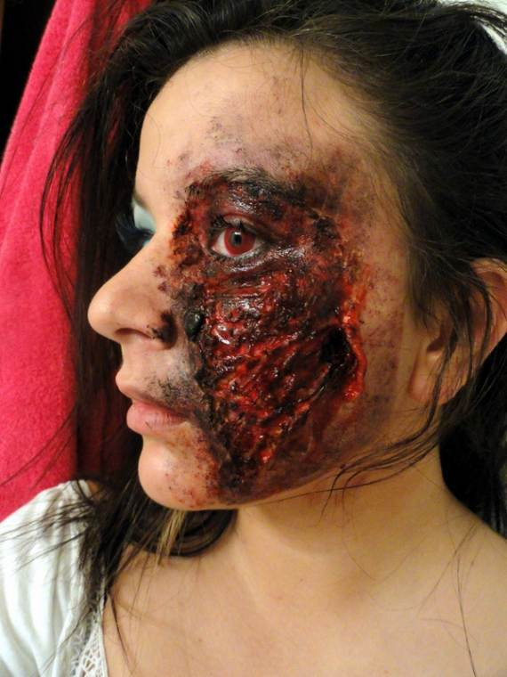 best scary halloween makeup ideas 3 - Scary Halloween Ideas