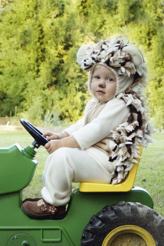 Cool Sweet And Funny Toddler Halloween Costumes Ideas For Your Kids (8)