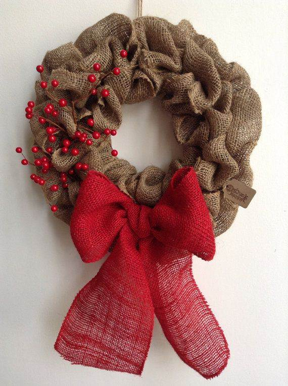 diy burlap wreath ideas for every holiday and