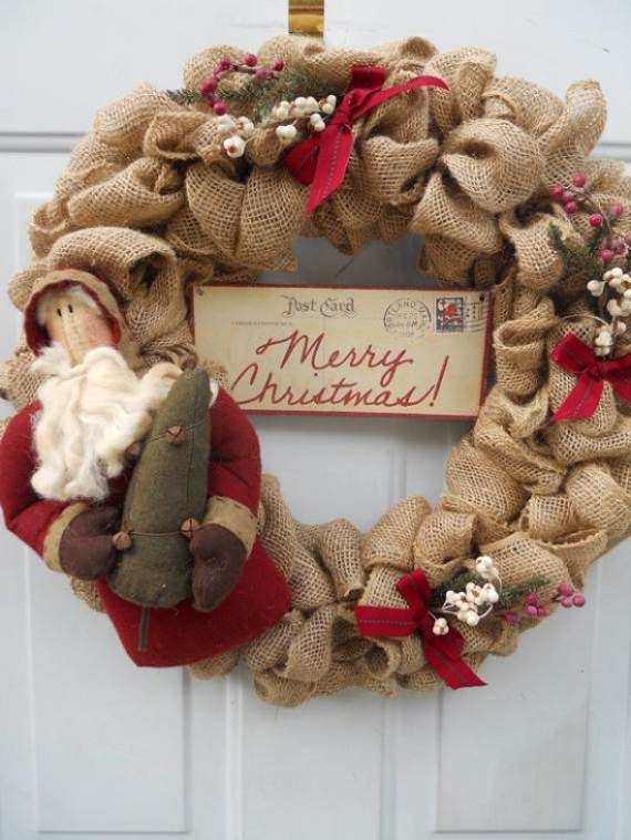Attractive Burlap Wreath Ideas Part - 3: DIY-Burlap-Wreath-ideas-for-every-holiday-and-