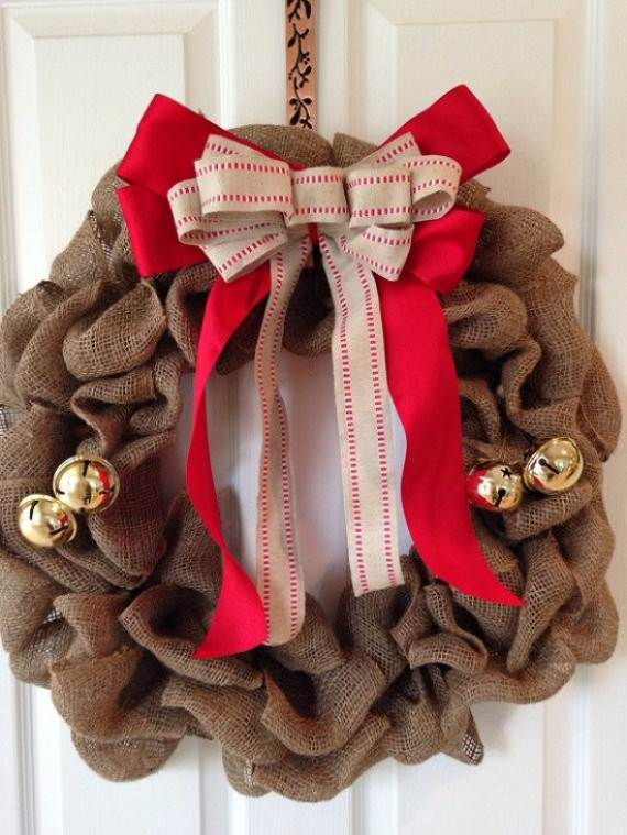 diy burlap wreath ideas for every holiday and season