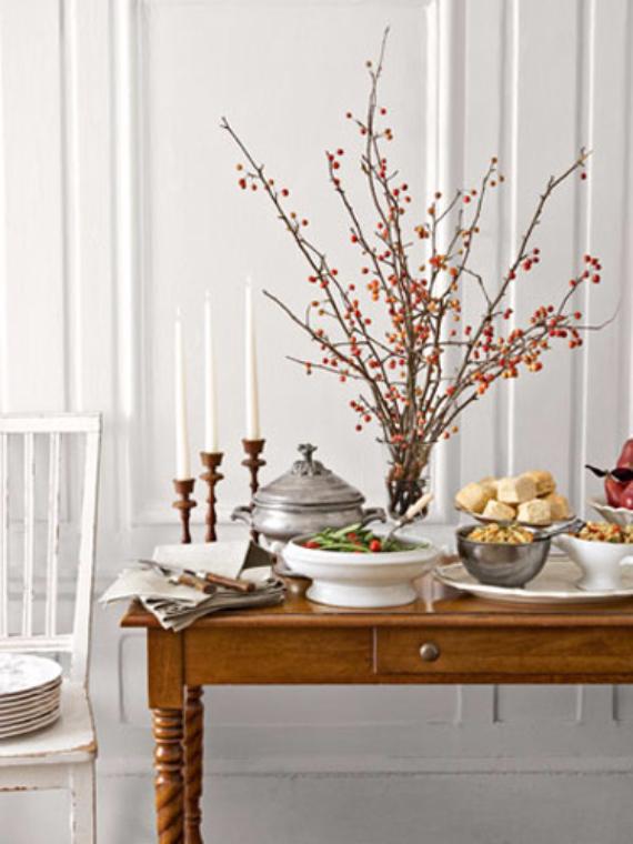 Easy and Elegant Festive Thanksgiving Decorating (10)