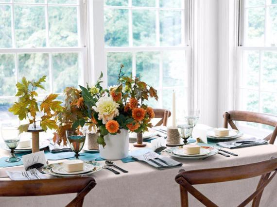 Easy and Elegant Festive Thanksgiving Decorating (20)