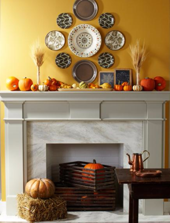 66 easy and elegant festive thanksgiving decorating How to decorate your house for thanksgiving