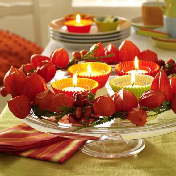 Easy and Elegant Festive Thanksgiving Decorating (62)