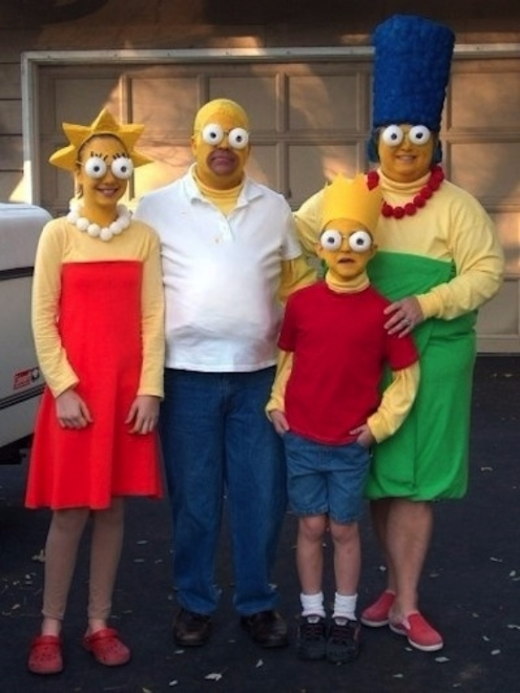 Family Halloween Costumes (31) & 55 Family Halloween Costumes: Ideas for the Whole Family - family ...