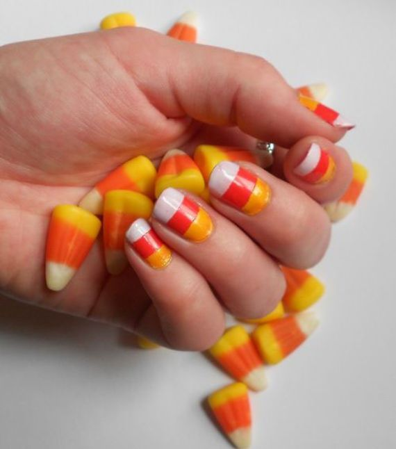 47 Candy Corn Crafts Chic Style In The Halloween Spirit Family