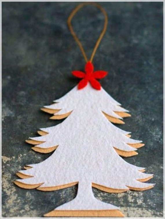 Homemade Felt Christmas Ornament (29)