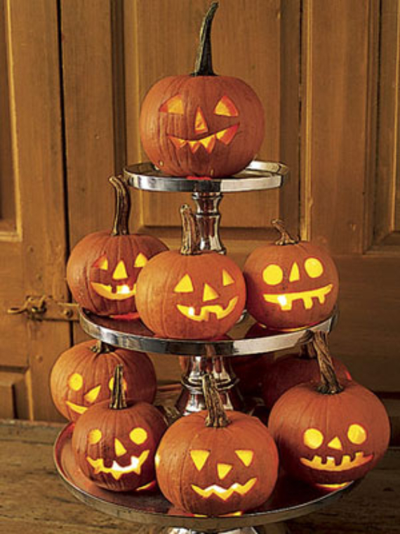 New Ways to Decorate Your Halloween Pumpkins (13)