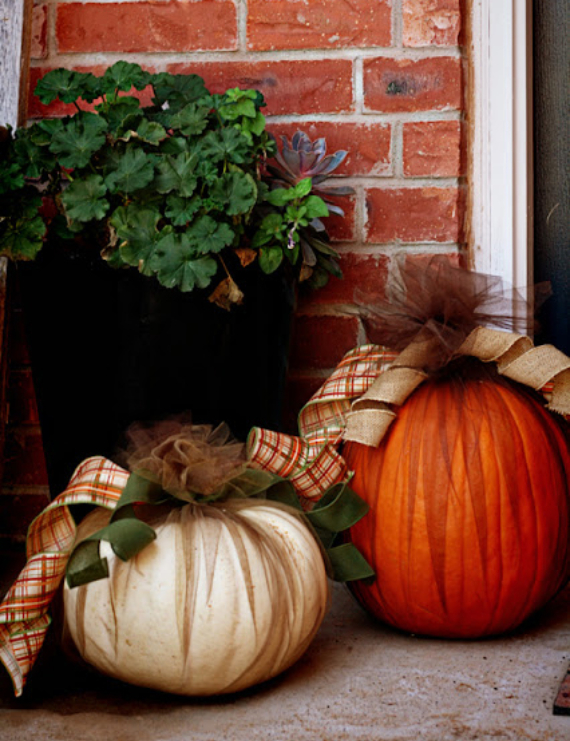 New Ways to Decorate Your Halloween Pumpkins (2)