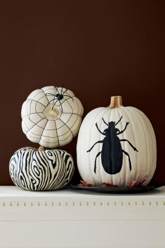 New Ways to Decorate Your Halloween Pumpkins (24)