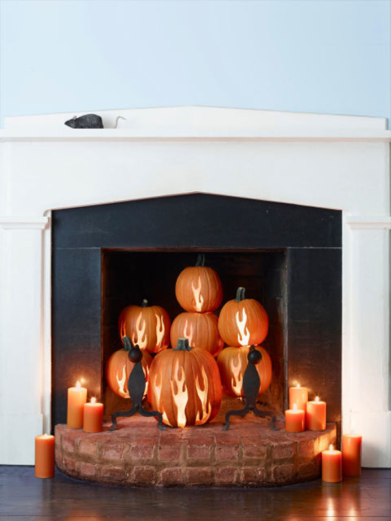 New Ways to Decorate Your Halloween Pumpkins (25)