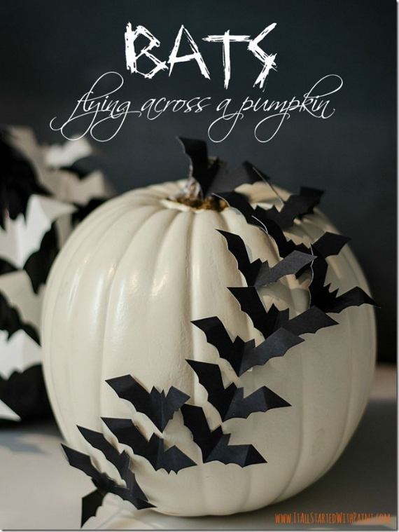 New Ways to Decorate Your Halloween Pumpkins (4)