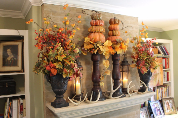 Simple Fascinating Autumn Interior Ideas   (37)