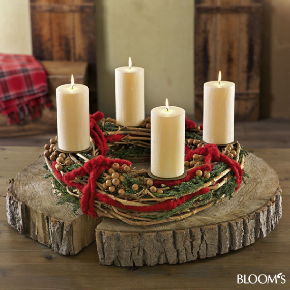 Advent candles ideas for the perfect christmas decoration for Advent decoration ideas