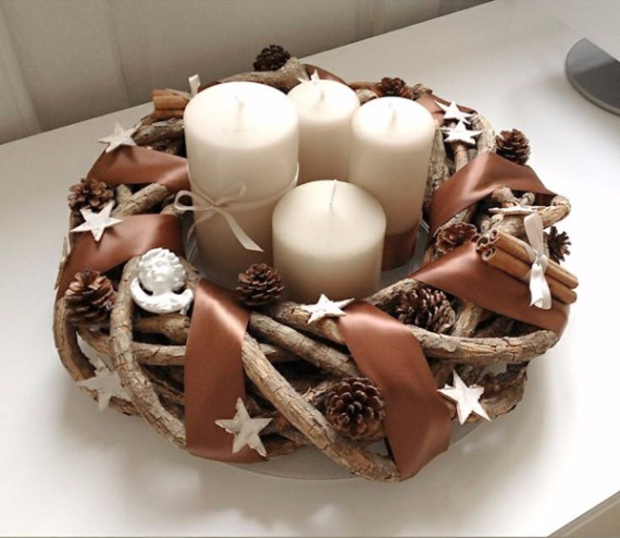 Advent Candles Ideas (23)