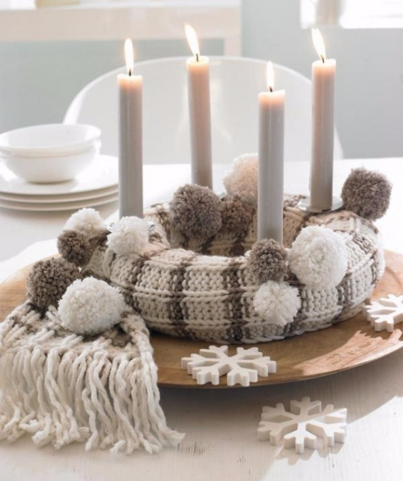 Advent Candles Ideas (28)