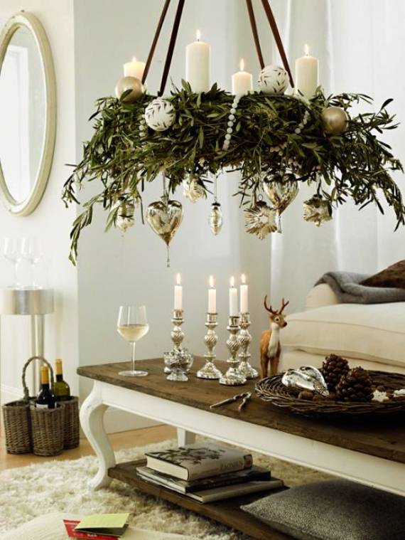 advent candles ideas for the perfect christmas decoration. Black Bedroom Furniture Sets. Home Design Ideas