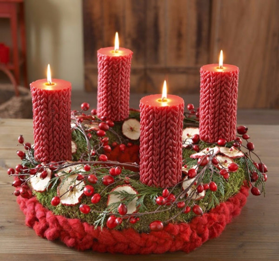 Advent Candles Ideas (43)