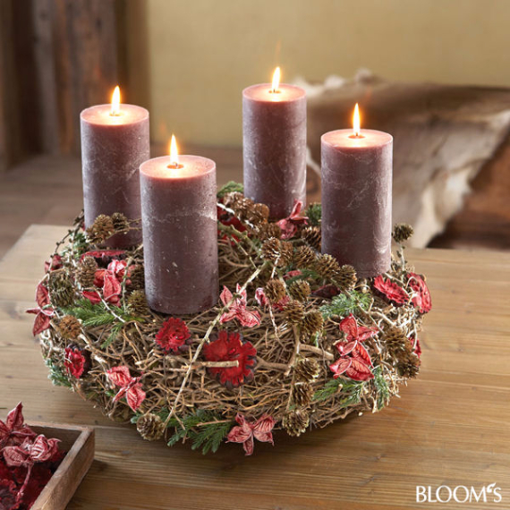 Advent Candles Ideas (8)