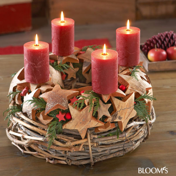 Advent Candles Ideas (9)