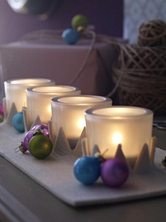 Advent wreath candles  (2)