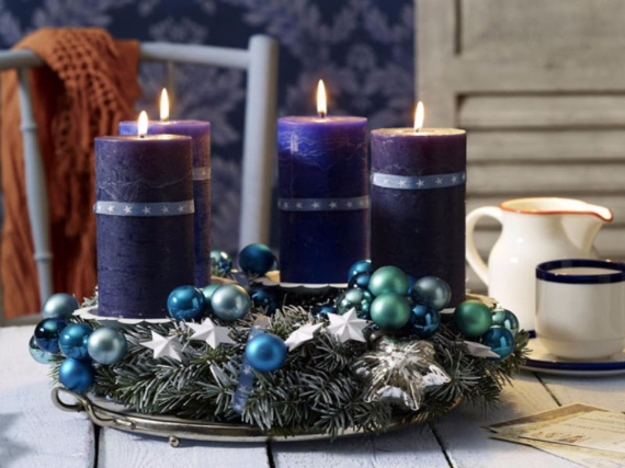 Advent wreath candles  (26)
