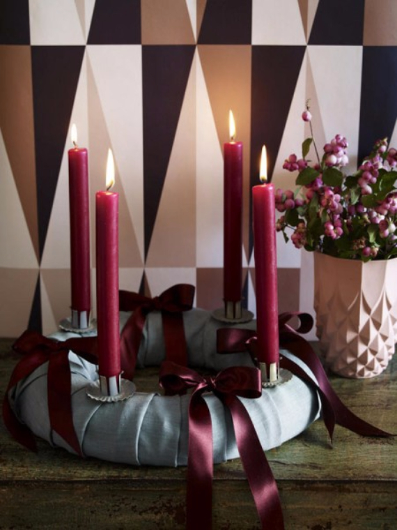 Advent wreath candles  (28)