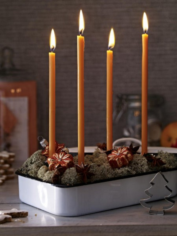 Advent wreath candles  (3)