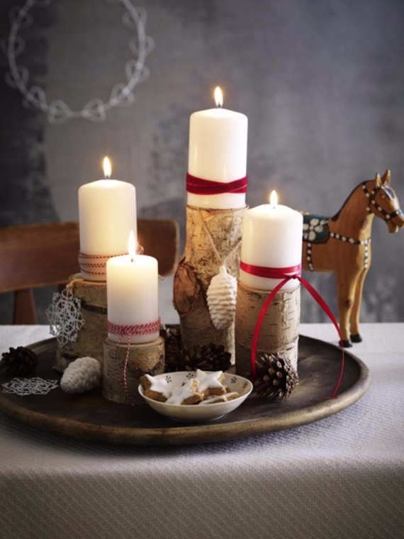 Advent wreath candles  (30)