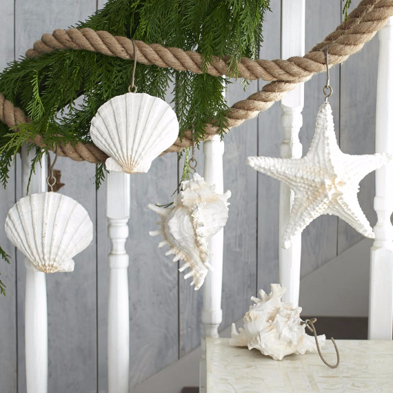 Coastal Christmas Tree Decorations