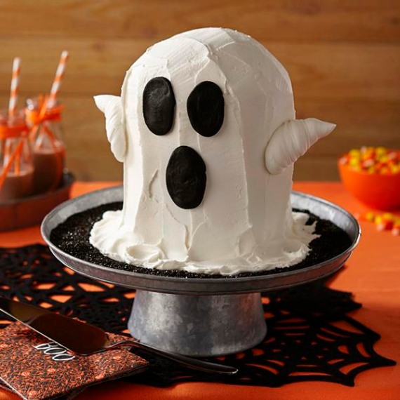 Cute & Non scary Halloween Cake Decorations (21)