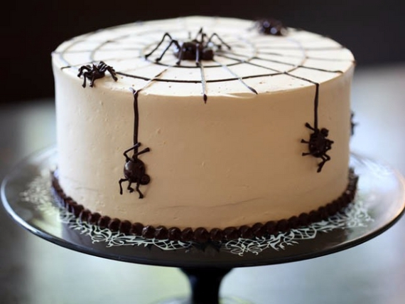 Cute & Non scary Halloween Cake Decorations (25)