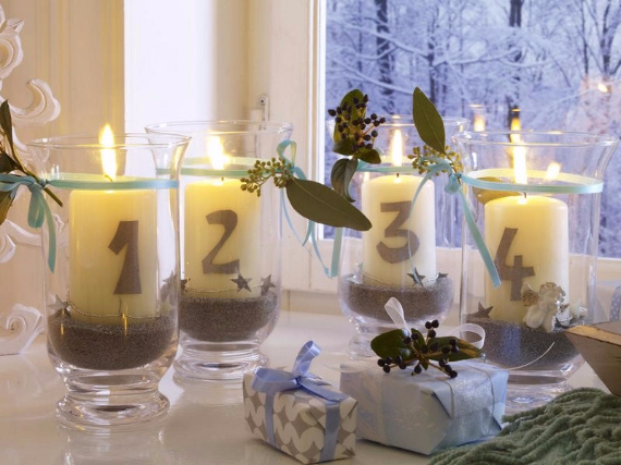 DIY Advent Wreath Ideas (22)