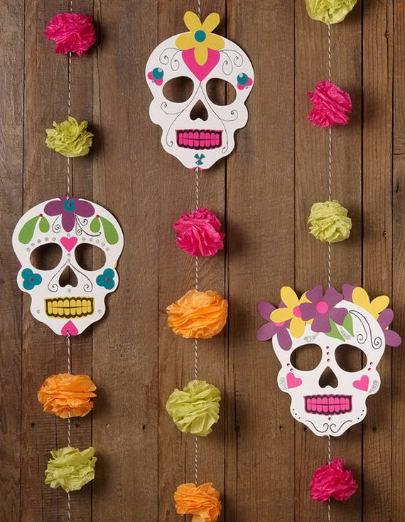 Day of the dead mexican crafts and activities family for Mexican christmas ornaments crafts