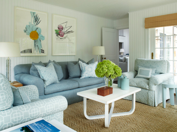 Interior Holiday Home Design In Blue Tones (5)
