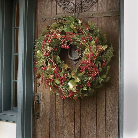 49 Magical Christmas Wreath Designs Family