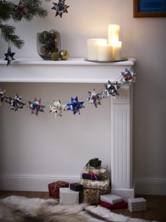 Mantel Decor Ideas For A Magical Christmas (11)
