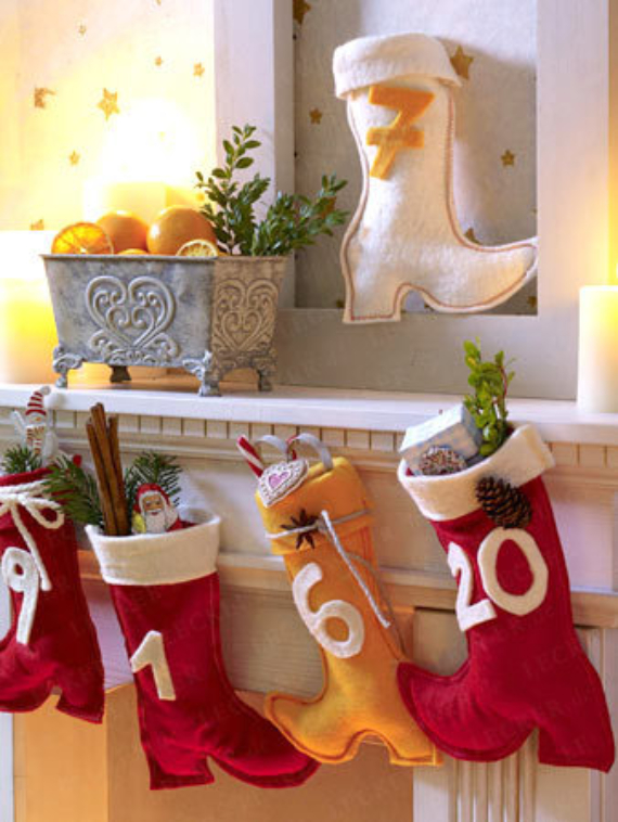Mantel Decor Ideas For A Magical Christmas (2)